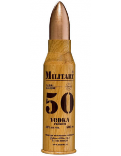 MILITARY 50 VODKA DEBOWA - 1