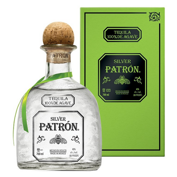 TEQUILA PATRON SILVER - 1