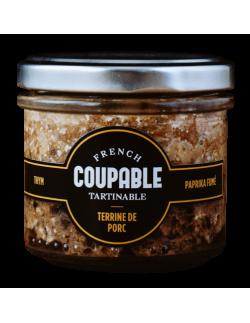 French Coupable, Terrine de Porc Thym et Paprika Fumé - 1