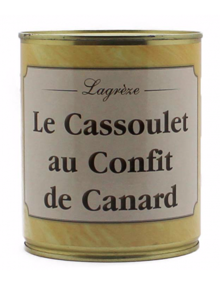 Cassoulet au confit de Canard, 760 G - 1