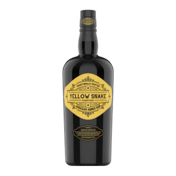 Yellow Snake Amber Rum 70cl - 1
