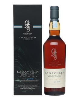 Lagavulin distillery, the distillers Edition - 43% - 1