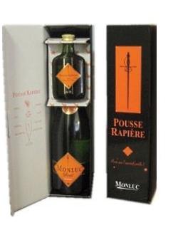 COFFRET pousse rapière et vin sauvage Monluc - 1