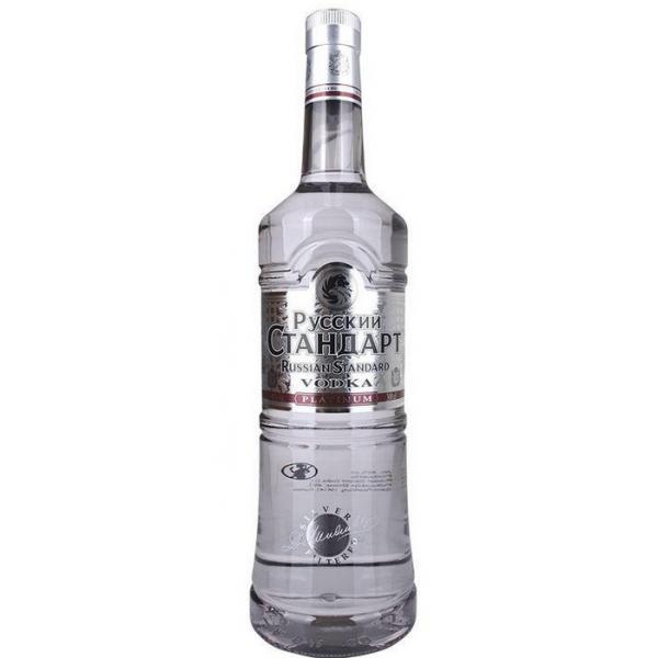 VODKA RUSSIANS STANDARD PLATINUM 300cl - 1