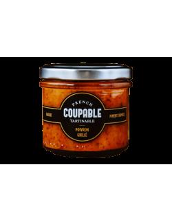 French Coupable - Tartinable de légumes, Poivron grillé, Piment chipotle, Basilic - 1