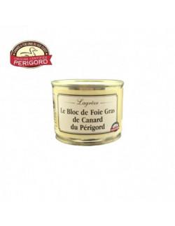 Lagrèze - Le bloc de foie gras de canard du Périgord (200g) - 1