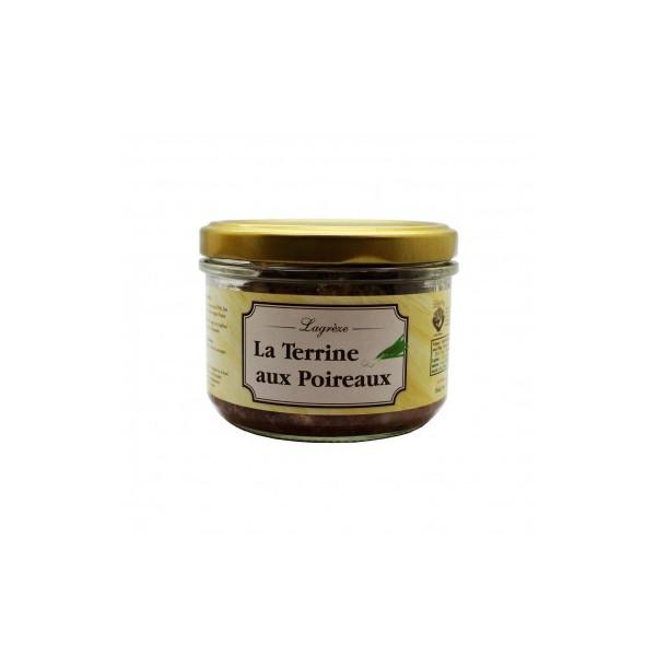 Lagrèze - La terrine aux poireaux - 1