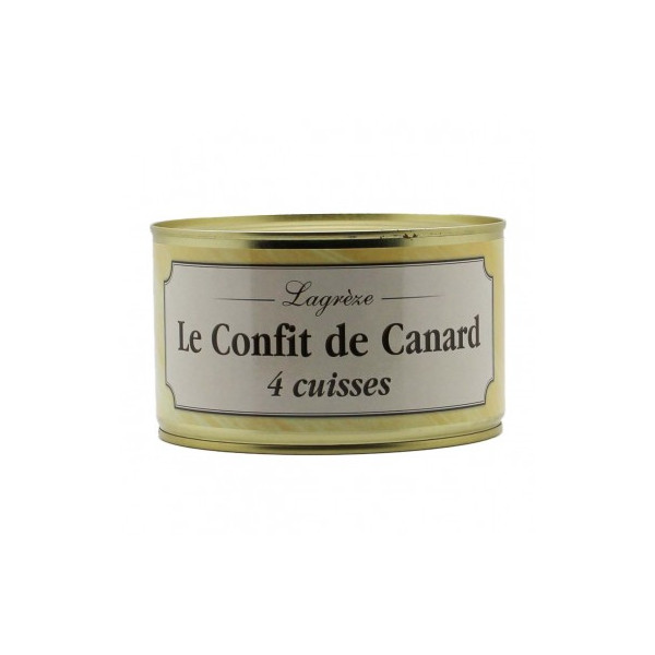 Lagrèze - Le confit de canard du Périgord 1350G - 1
