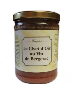 Lagrèze - Le Civet d'Oie au Vin de Bergerac - 1