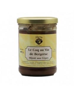 Lagrèze - Coq au vin mijoté aux cèpes - 1