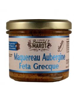 Bernard Marot, Maquereau Aubergine - Feta Grecque - 1