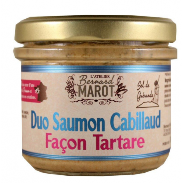 Bernard Marot, Duo Saumon Cabillaud - Façon Tartare - 1