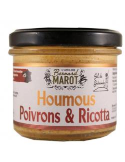 Bernard Marot, Houmous - Poivrons et Ricotta - 1