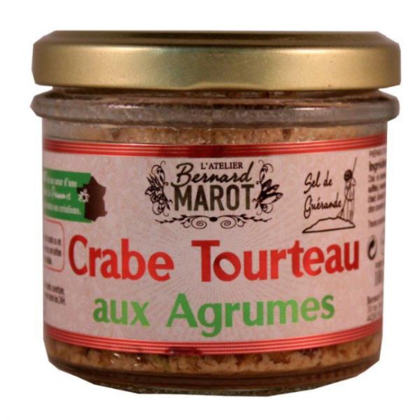 Bernard Marot, Crabe Tourteau aux Agrumes - 1