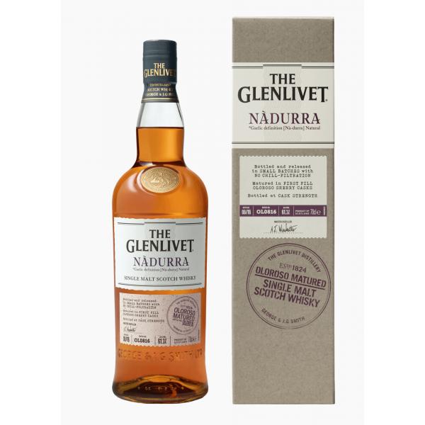 WHISKY THE GLENLIVET NADURRA 60,2 % - 1