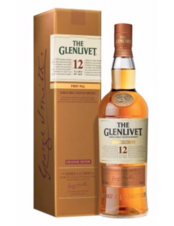 WHISKY THE GLENLIVET 12 ans FIRST FILL - 1