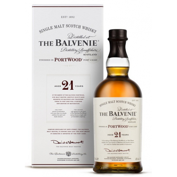 THE BALVENIE PORTWOOD 21 ANS - 1