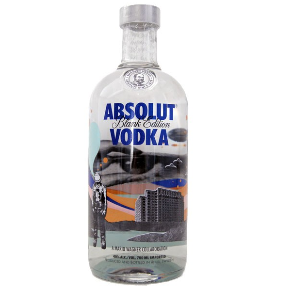 ABSOLUT BLANK EDITION MARIO WAGNER - 1