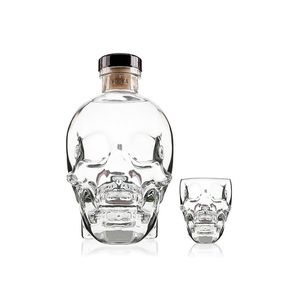 CRYSTAL HEAD VODKA ET SON VERRE - 1