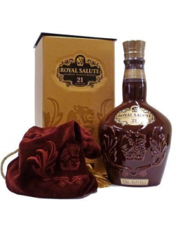 CHIVAS ROYAL SALUTE 21 ANS RUBY - 1