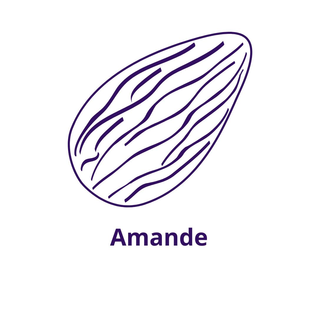Bouteille goût Amande