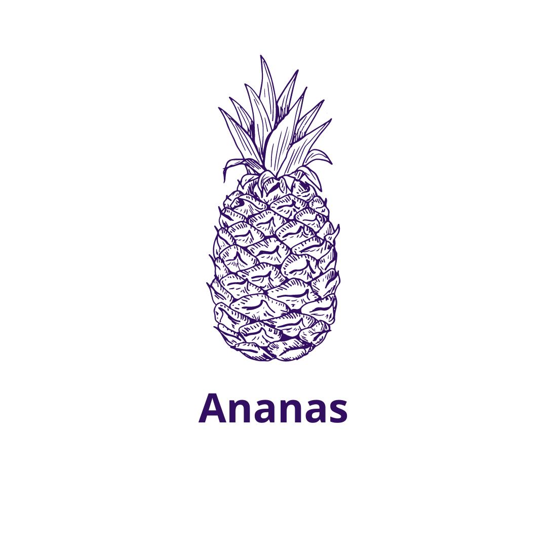 Bouteille goût Ananas