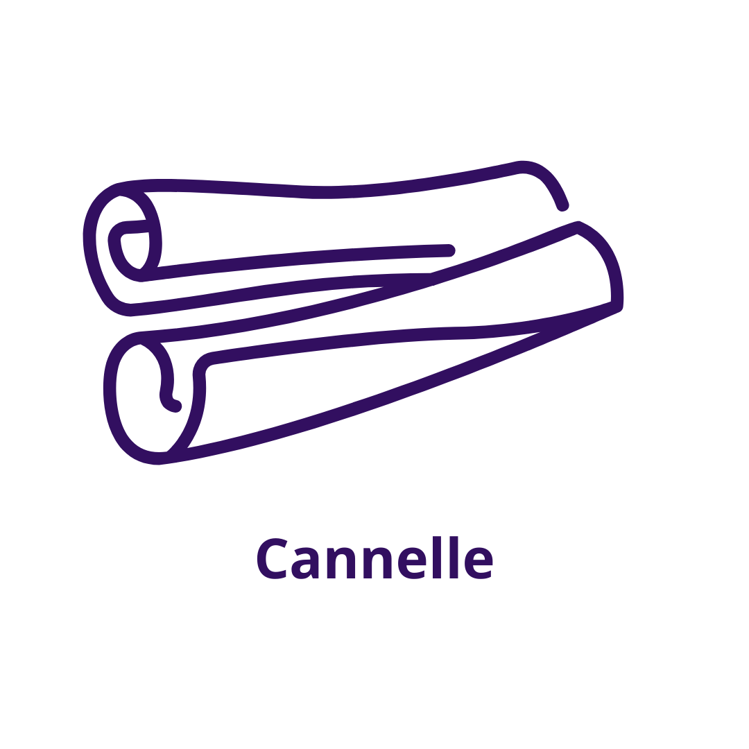 Bouteille goût Cannelle