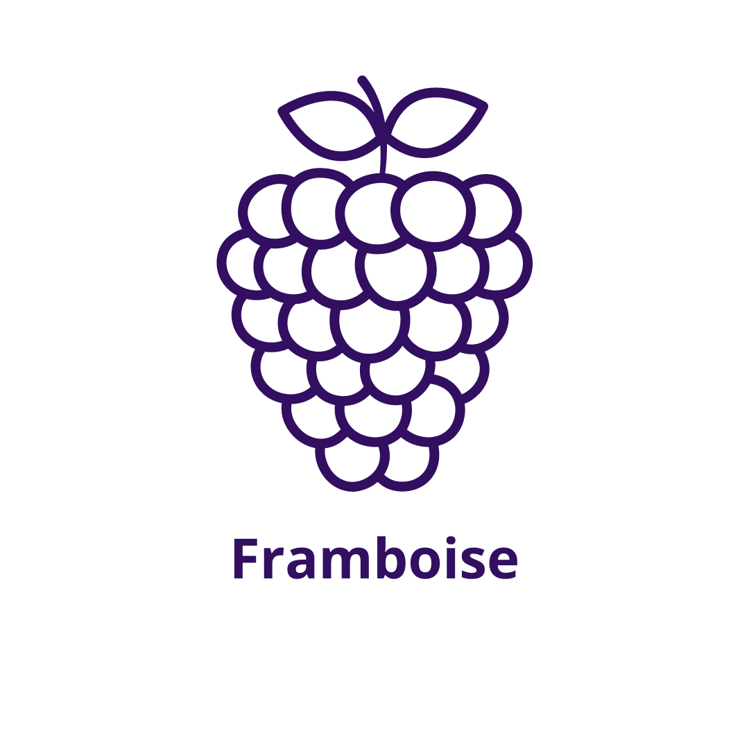 Bouteille goût Framboise