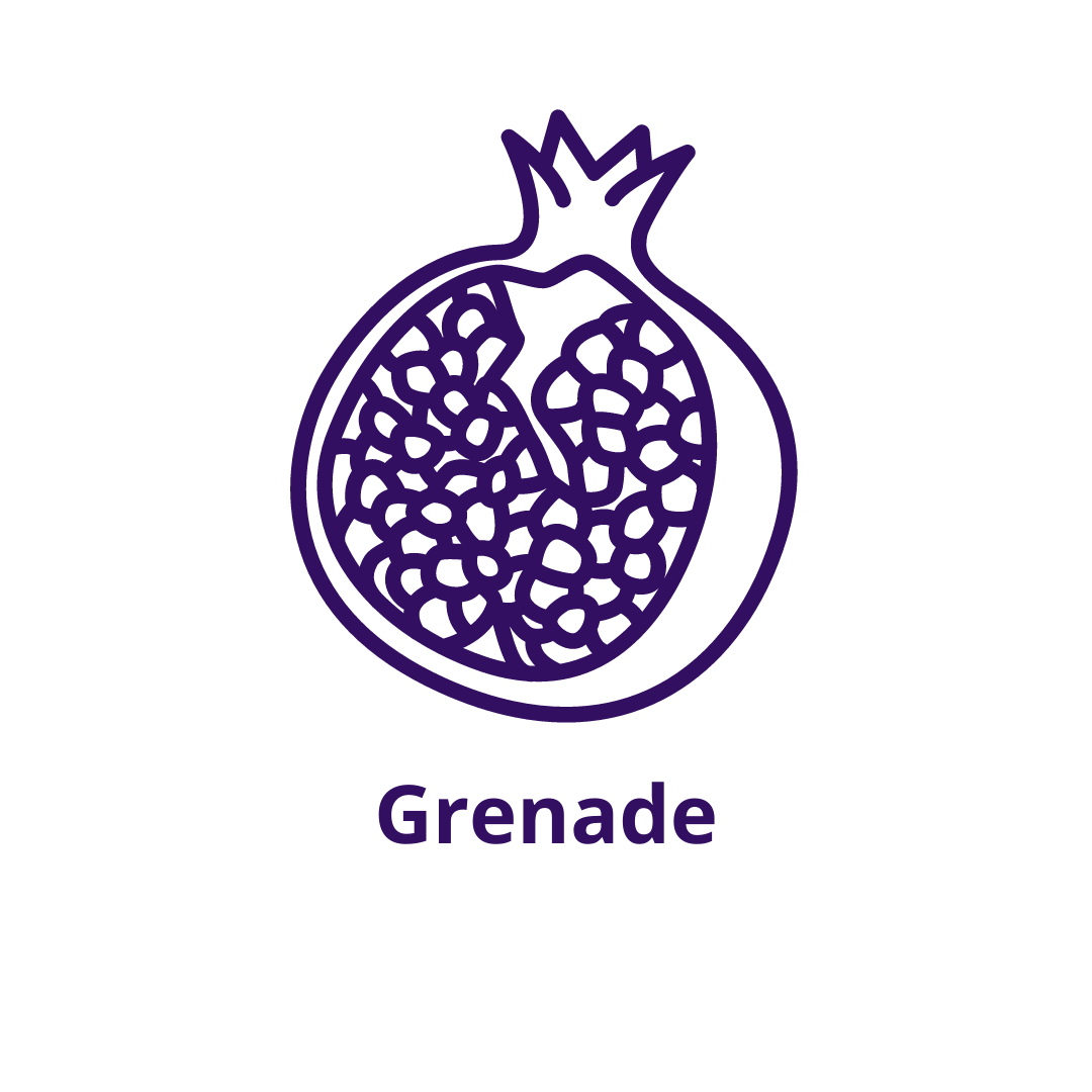 Bouteille goût Grenade