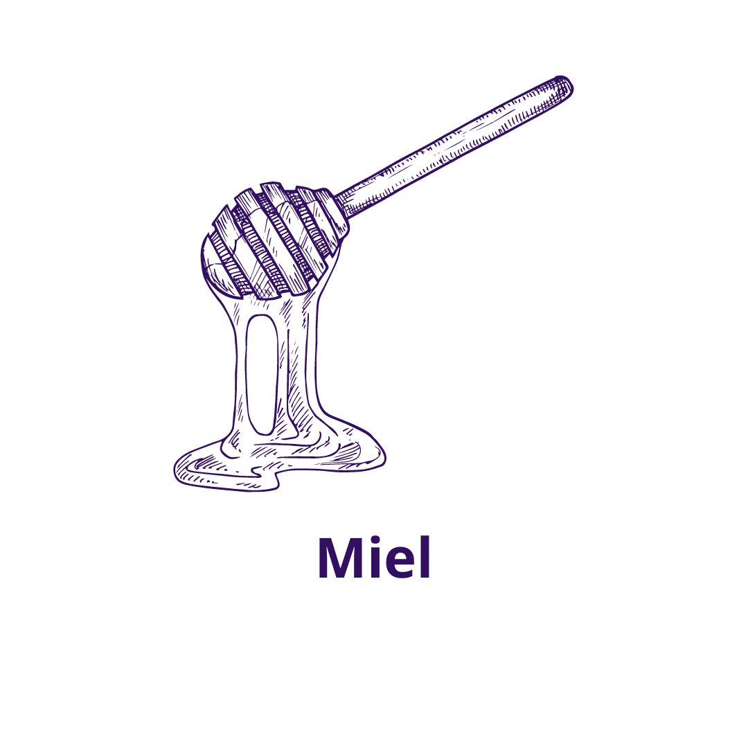Bouteille goût Miel