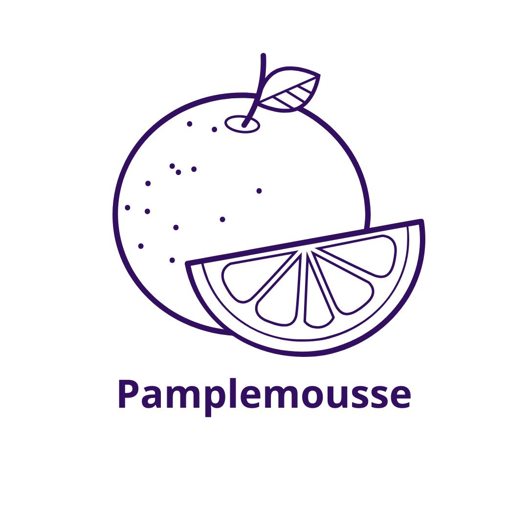 Bouteille goût Pamplemousse