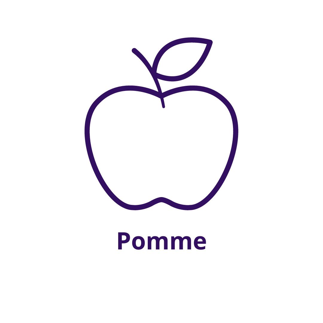 Bouteille goût Pomme
